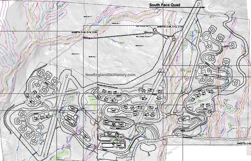 South Face Village Development Map
