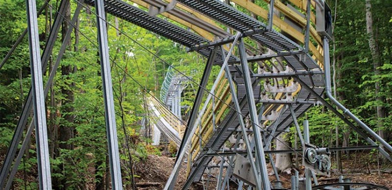 The Gunstock Mountain Coaster