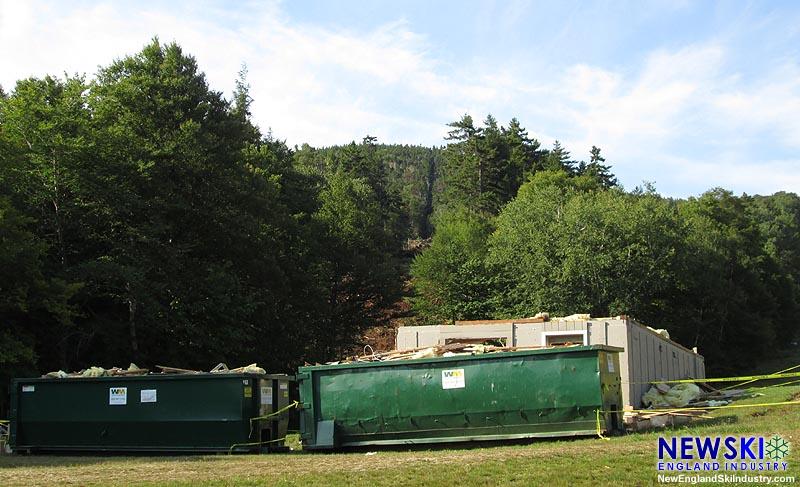 Competition Center demolition (September 3, 2016)