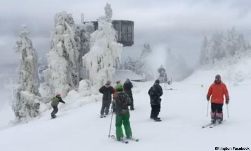 Killington Opening Day, October 25, 2016