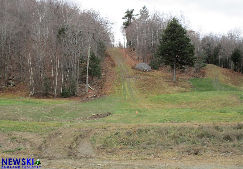 The proposed Whaleback T-Bar lift line, November 11, 2016