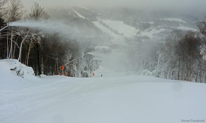Stowe snowmaking