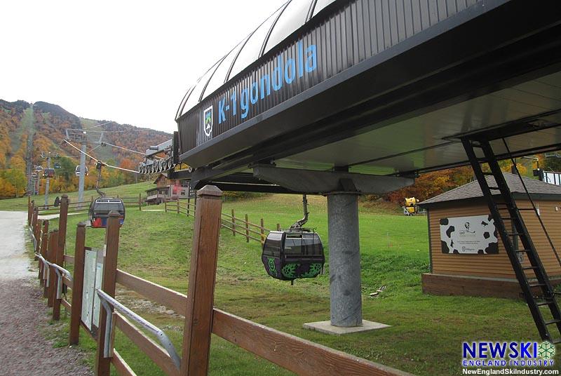 The K1 Gondola in October