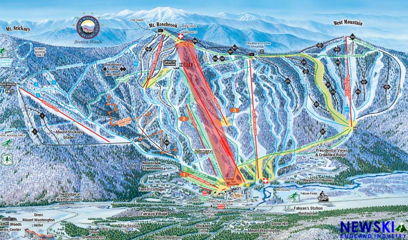 Proposed Gondola at Bretton Woods