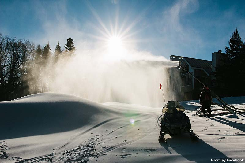 Bromley snowmaking