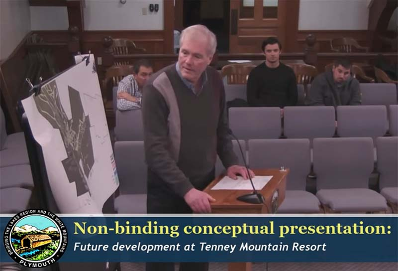 Tenney Mountain Presentation to the Plymouth Planning Board
