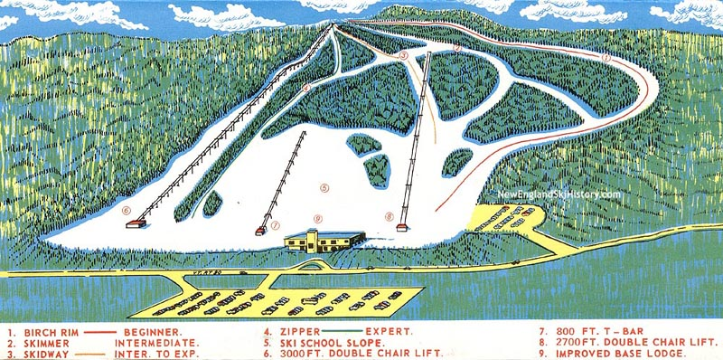1970s Maple Valley Trail Map