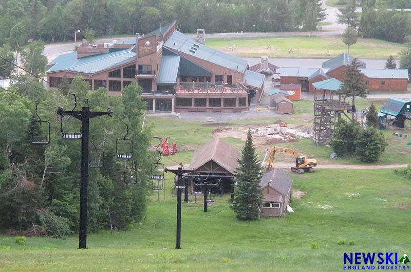 Bretton Woods base area, June 14, 2018