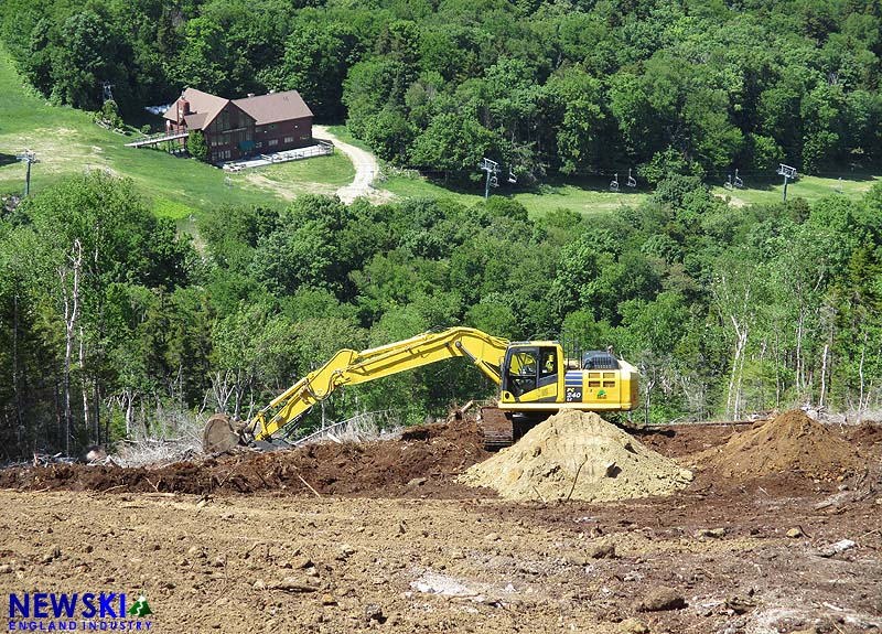 Waterville Valley Green Peak Construction