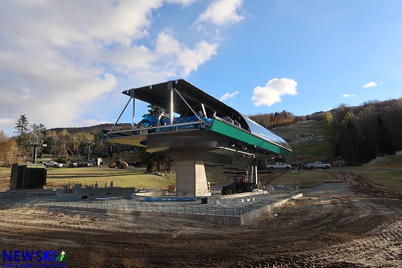 Lift Construction Continues as Ski Season Starts