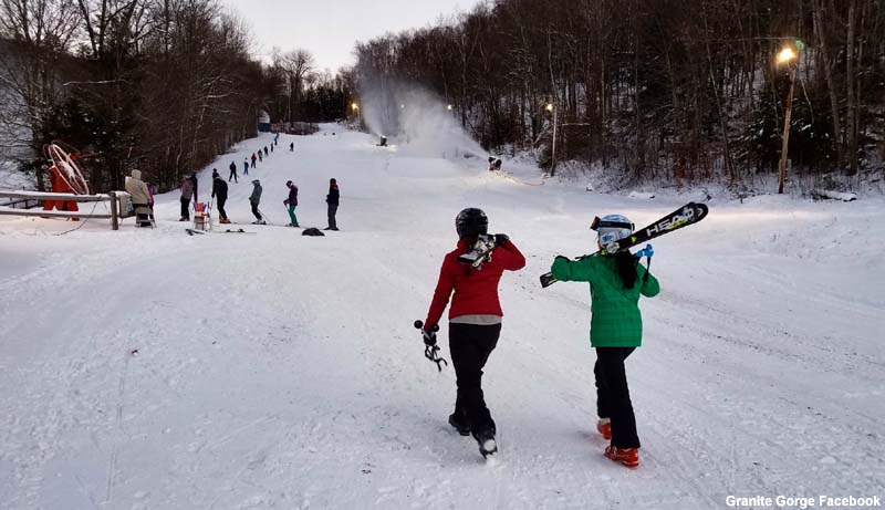 Granite Gorge Open for Skiing