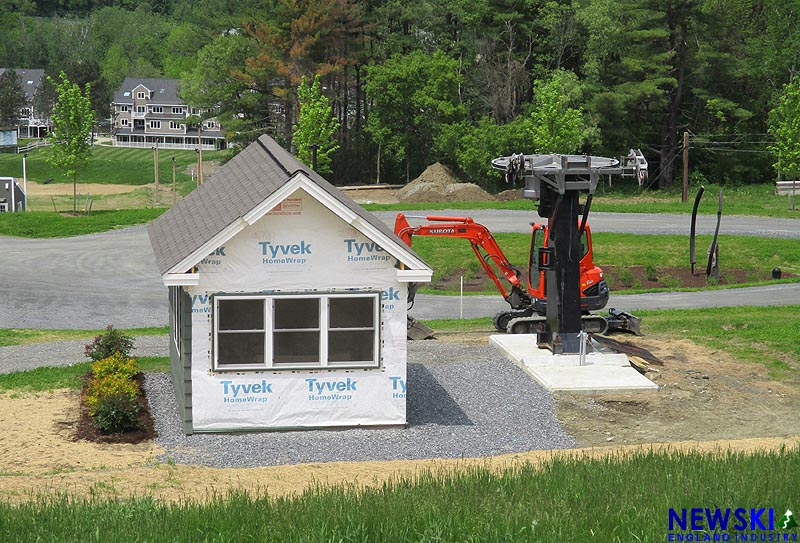 Lift and Lodge Construction In Progress Across New England