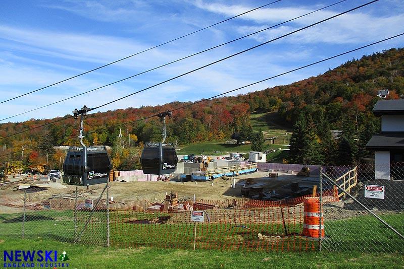 K1 Lodge Construction, September 29, 2019
