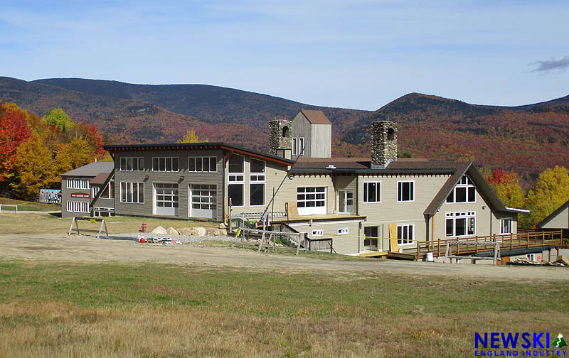 Waterville Valley Base Lodge, October 13, 2019