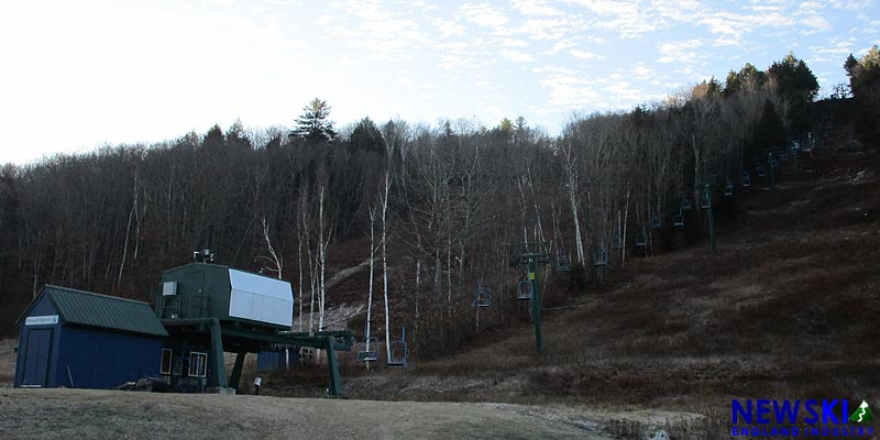 Granite Gorge Chairlift, November 2019