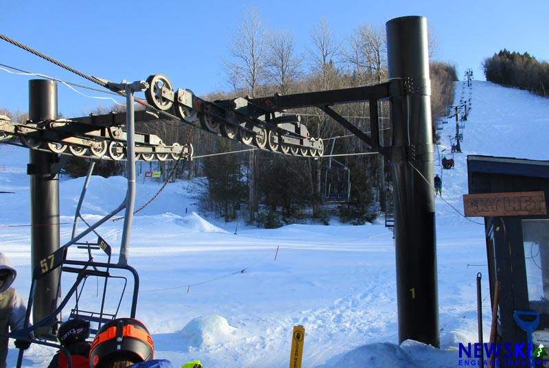 Whaleback Chairlift, March 2019