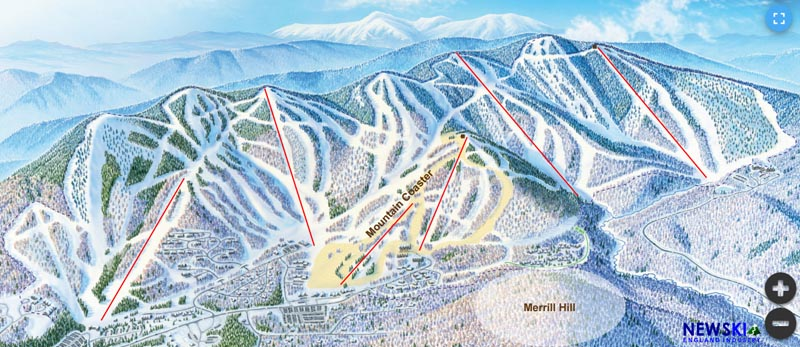 Sunday River Development Map