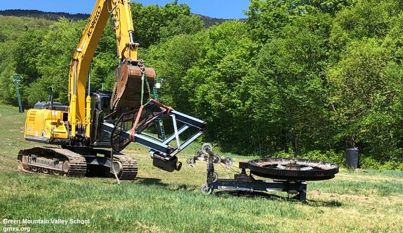 Sugarbush Lift Construction