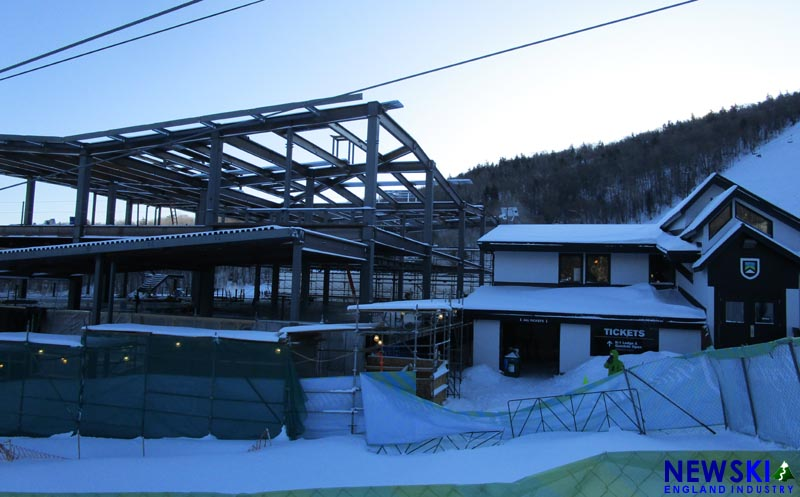 K1 Lodge Construction, December 2019