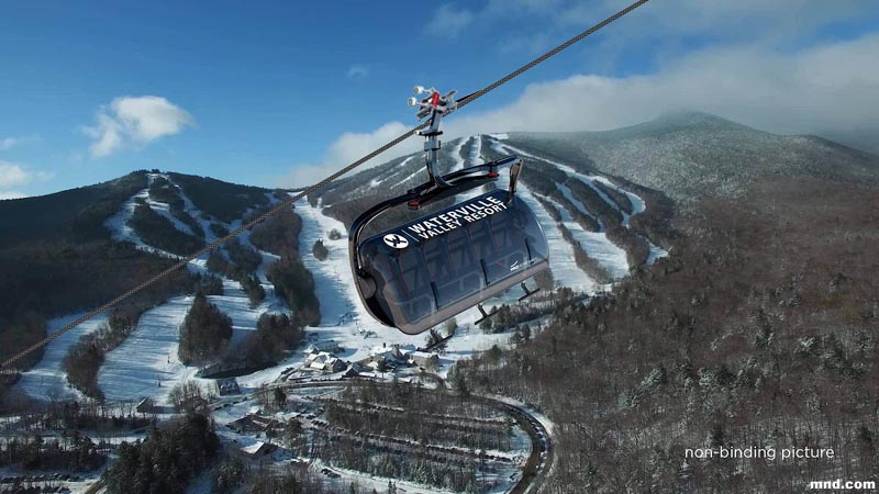 Waterville Valley to Install 6 Person Bubble Chairlift