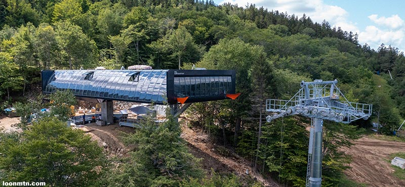 Article: Lift Construction Continues as August Comes to a Close