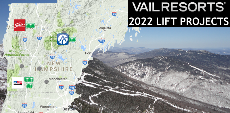 Vail Announces Four New Lifts for 2022