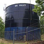 Iconic Ski Valley Water Tank Scheduled for Removal