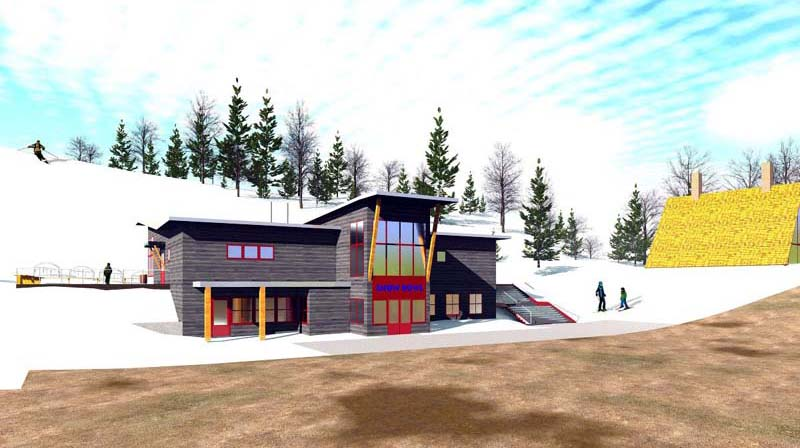 2015 Camden Base Lodge Rendering