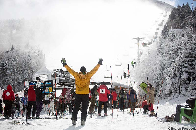Killington Opening Day 2015