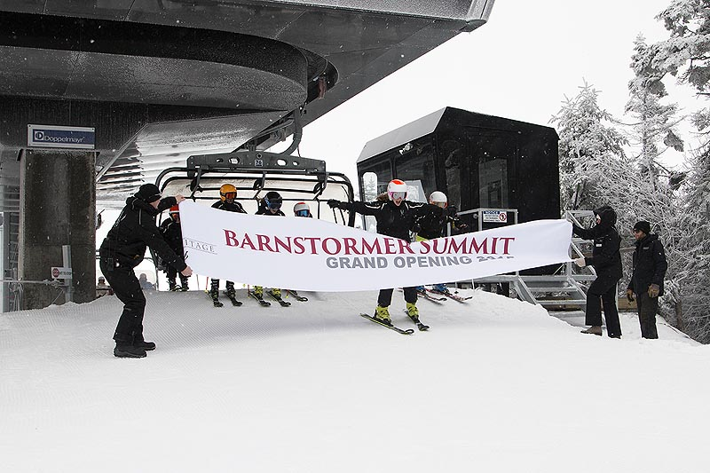 Barnstormer Official Opening at Haystack