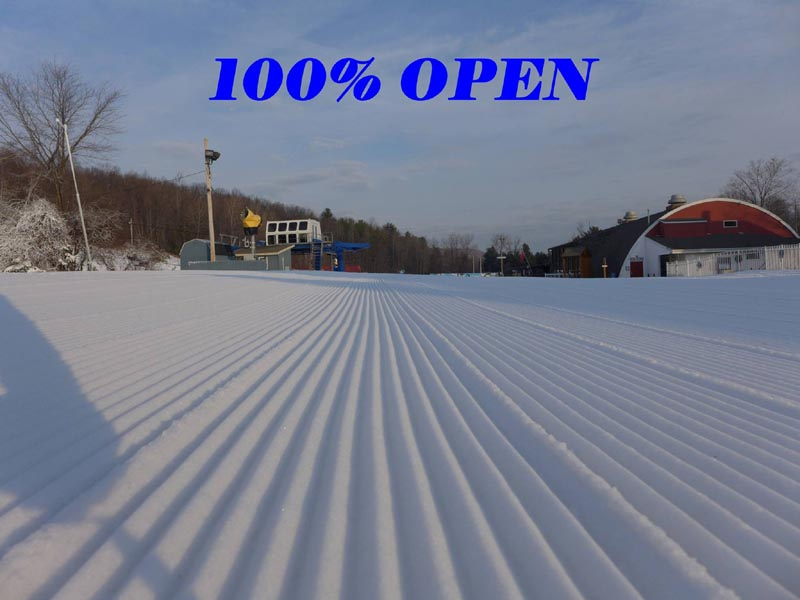 Mt. Southington's 100% Open Photo, January 15, 2016
