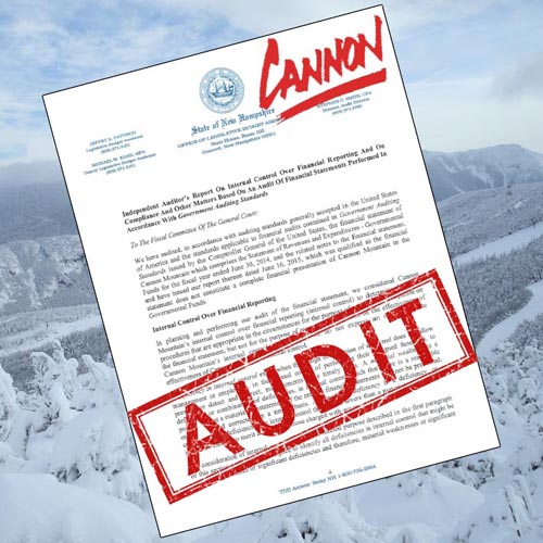 Cannon Mountain Audit