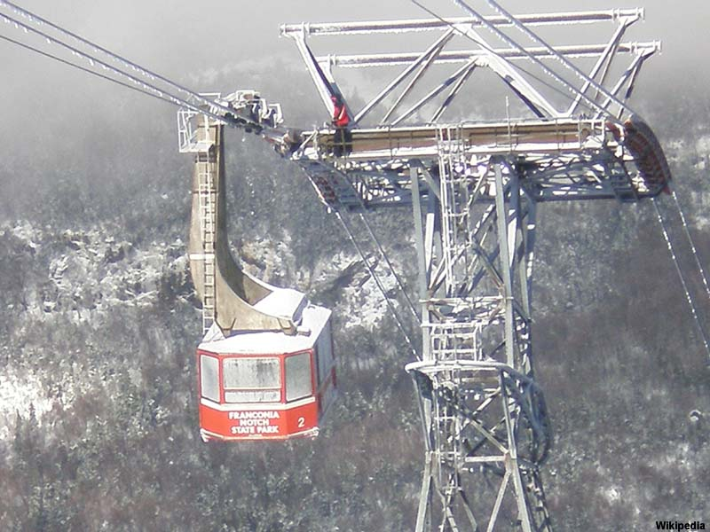 Cannon Mountain Tram in 2011