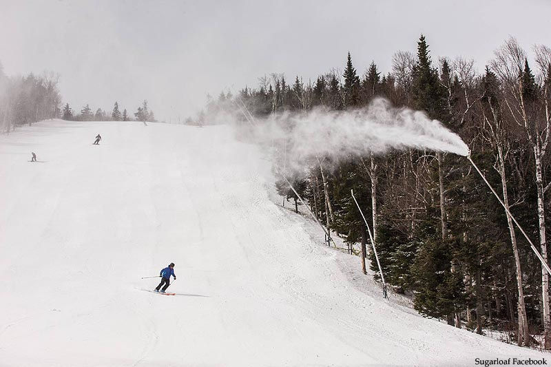 Sugarloaf Snowmaking, April 3, 2016