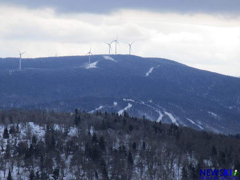 The Balsams ski area and wind farm in 2016