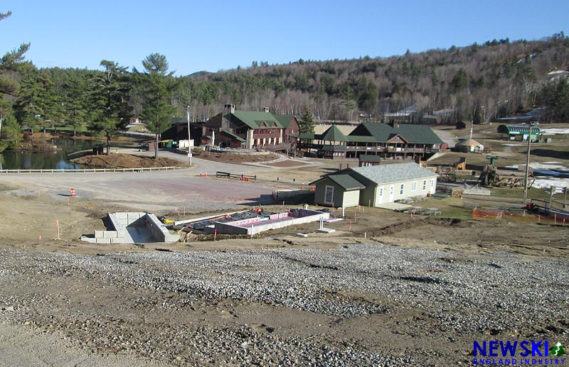 Gunstock Mountain Coaster Construction, April 23, 2016