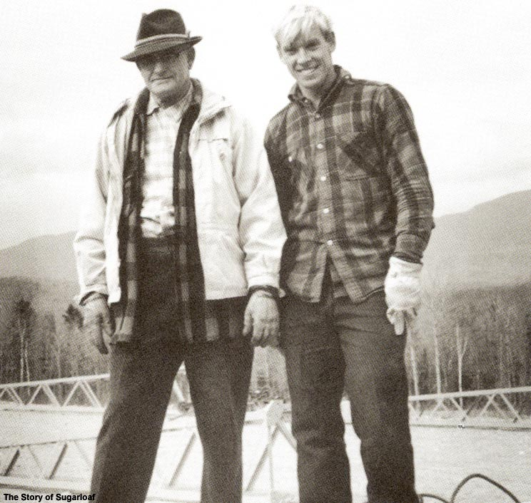 Amos Winter and John Christie in 1965