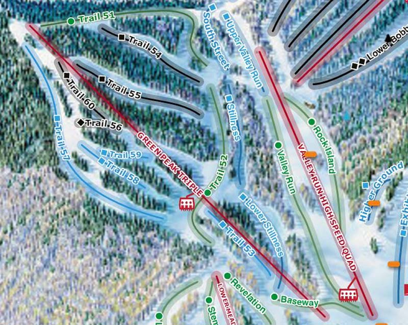 New Green Peak Trail Set to Debut at Waterville Valley on Saturday